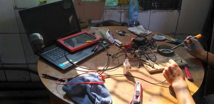 Сложный ремонт электро-оборудования