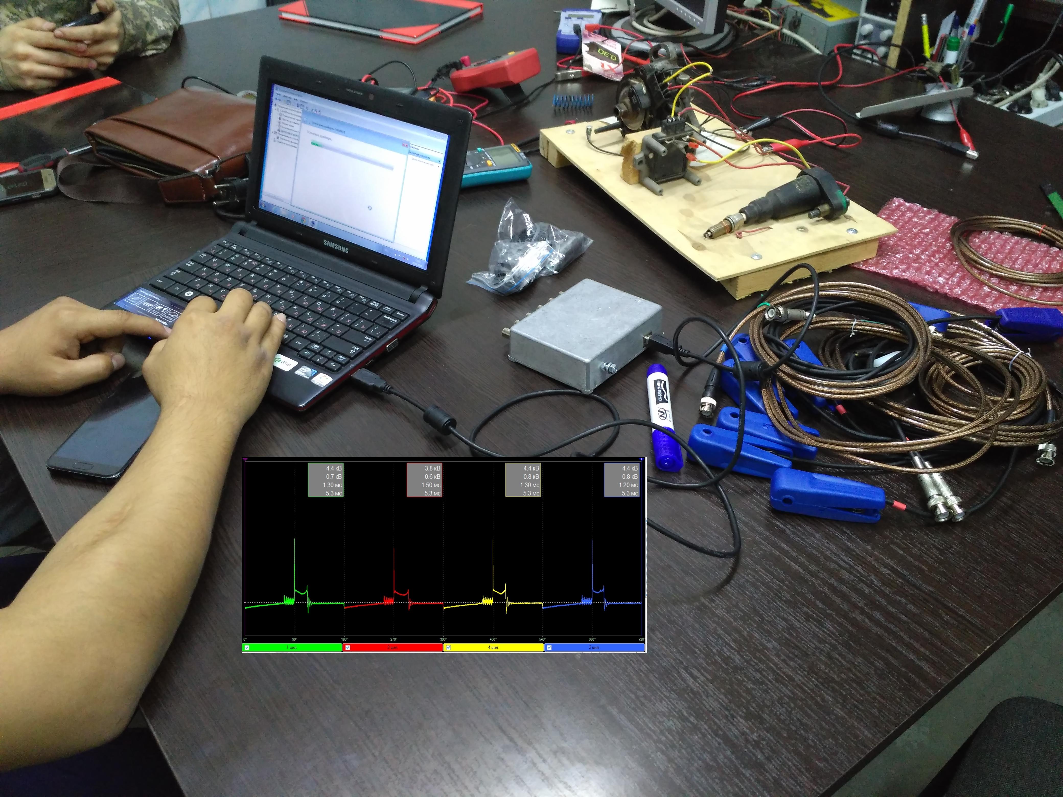 диагностика мотор-тестером